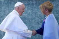 OBRAZOM: Návšteva pápeža Františka na Slovensku
