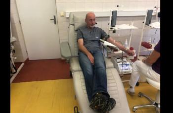 Nemocnice majú málo krvi, na výzvu reagovalo v Ružomberku 54 darcov