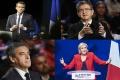 V zámorských územiach vedú Macron a  Mélenchon, tvrdia médiá