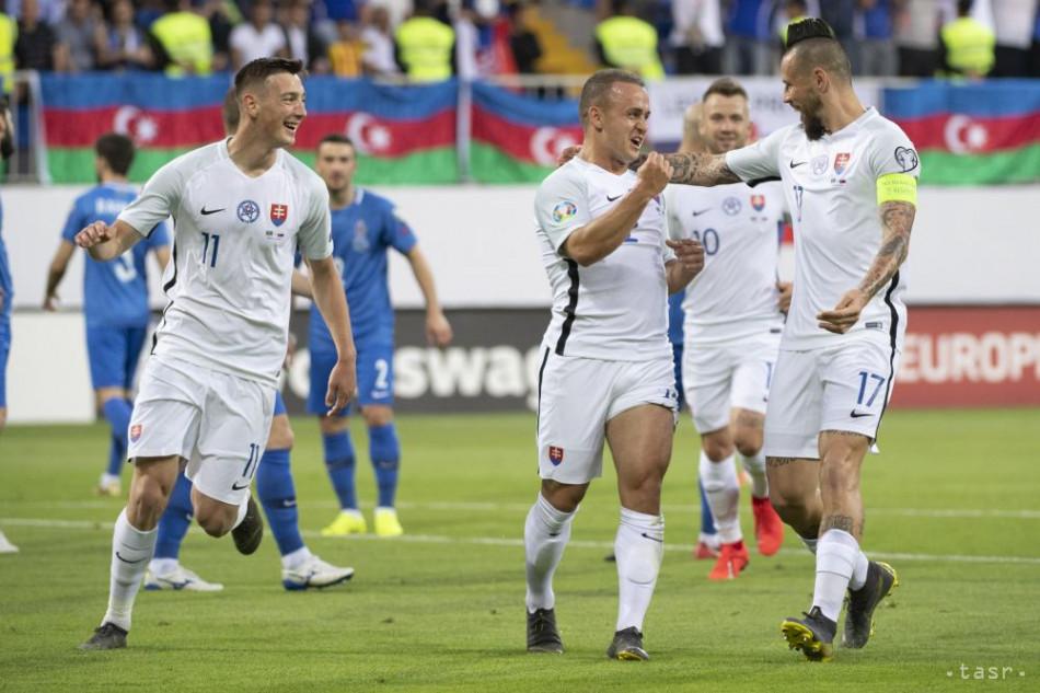62e219af57910 EURO 2020: Futbalisti SR rozdrvili v Baku domáci Azerbajdžan