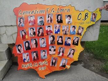Gymnázium Federica Garcia Lorcu Hronská 3 Bratislava, Oktáva B