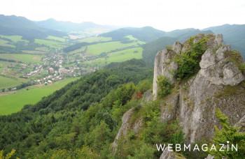 V Strážovských vrchoch vznikne chránený areál Langáčske skaly