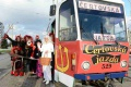 V Košiciach dnes jazdí bezplatne Mikulášska električka