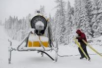 Vysoké Tatry - zasnežovanie