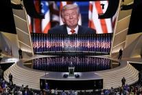 Trump po prijatí prezidentskej nominácie sľúbil bezpečnejšiu Ameriku