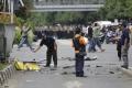 Samovražedný atentátnik útočil na čínske veľvyslanectvo v Kirgizsku