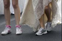 Srbské nevesty bežali o svadobné šaty
