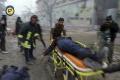 Bombardovanie východného Aleppa zabilo najmenej troch ľudí
