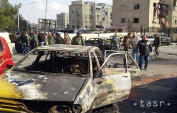 VIDEO: Islamský štát útočil v Damasku, bomba zabila najmenej 10 ľudí