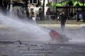 Marocká polícia použila proti protestujúcim učiteľom vodné delá