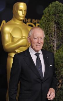 Švédsky herec Max von Sydow má 90 rokov