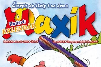 Váš Maxík na január prináša vám kalendár