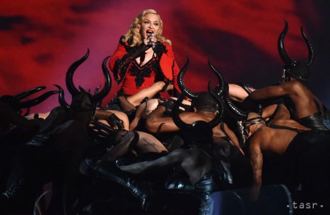 Americká speváčka Madonna oslavuje šesťdesiatku